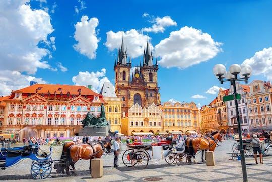Half-day walking tour of Prague