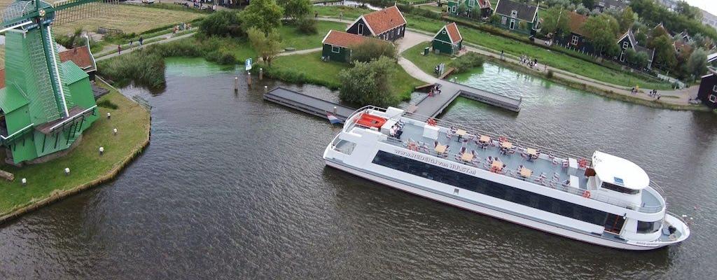 Bootstour zum Windmühlendorf Zaanse Schans von Amsterdam