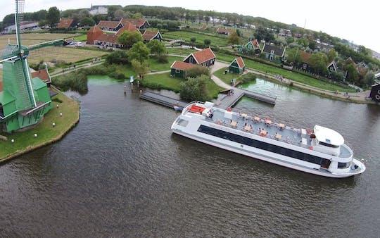 Boat tour to Zaanse Schans Windmill Village from Amsterdam