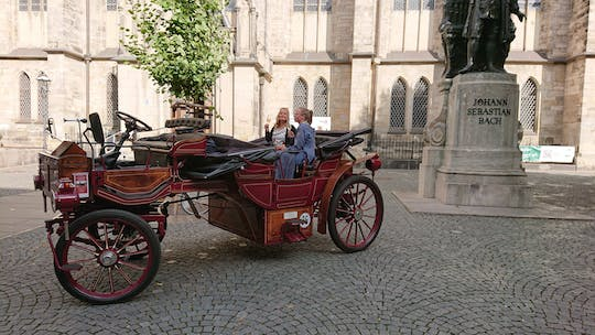 Leipzig city center tour by electric carriage