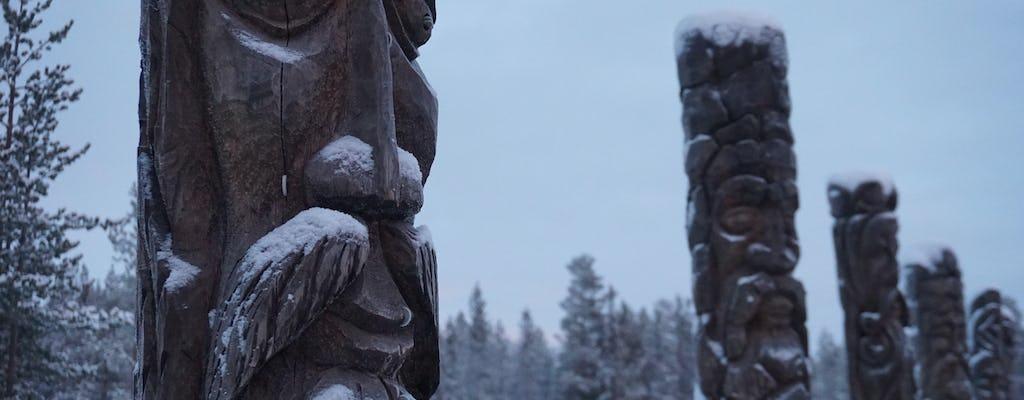 Wioska Saami i przejażdżka husky prywatna wycieczka z przewodnikiem z Murmańska