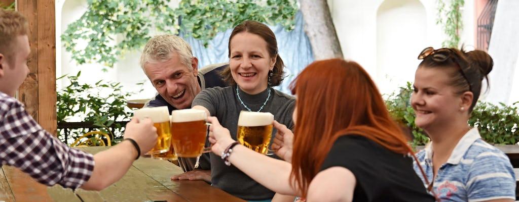 Prager Biertour mit Abendessen und Ticket für das Biermuseum