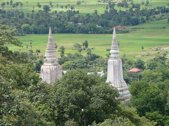 Całodniowa prywatna wycieczka do starożytnej stolicy Oudong z Phnom Penh