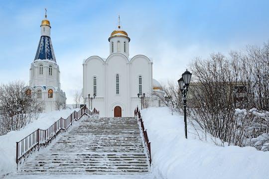 Cidade de Murmansk com visita guiada particular ao museu Lenin