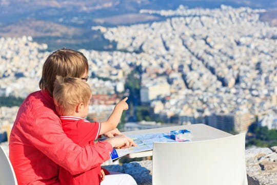 Caça ao tesouro com família guiada em Atenas