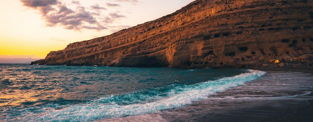 Privétour naar Matala en Zuid-Kreta vanuit Heraklion