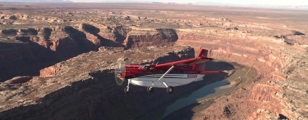 Malownicza wycieczka samolotem po Parku Narodowym Canyonlands