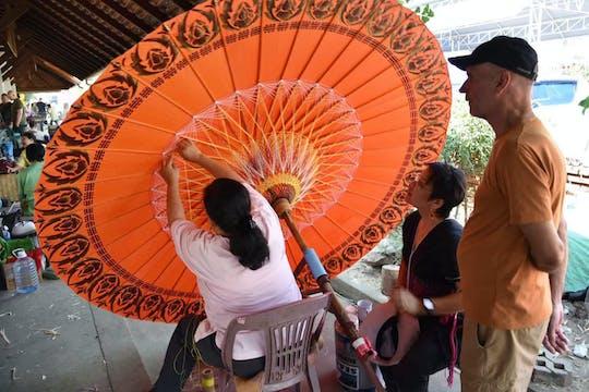 Visite privée de Sankampaeng et de l'artisanat de Bo Sang