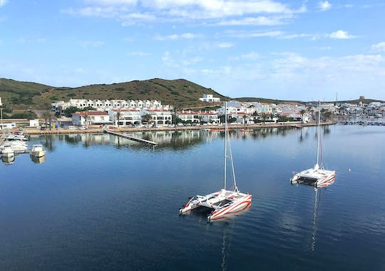 Private Catamaran Cruise from Fornells
