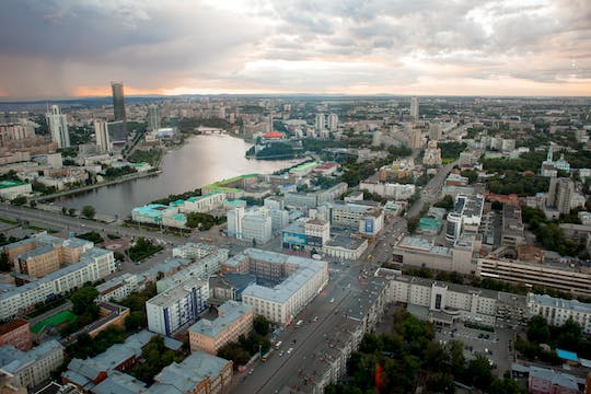 Courtyards, doorways, alleys and stories guided private tour in Yekaterinburg
