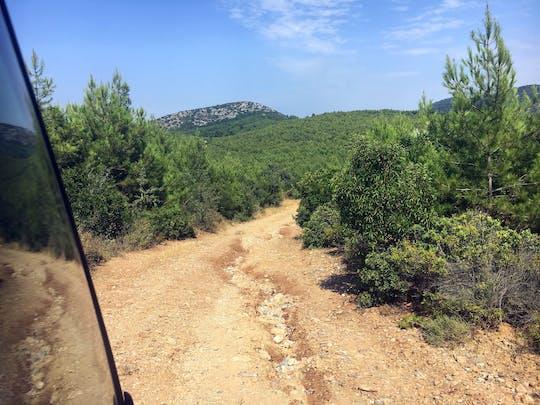 Kusadasi: Fahrt mit dem Geländewagen und Bootstour