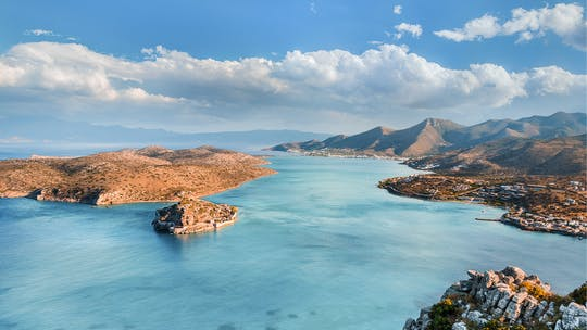 Prywatna wycieczka po Agios Nikolaos, Spinalonga i wschodniej Krecie z Heraklionu