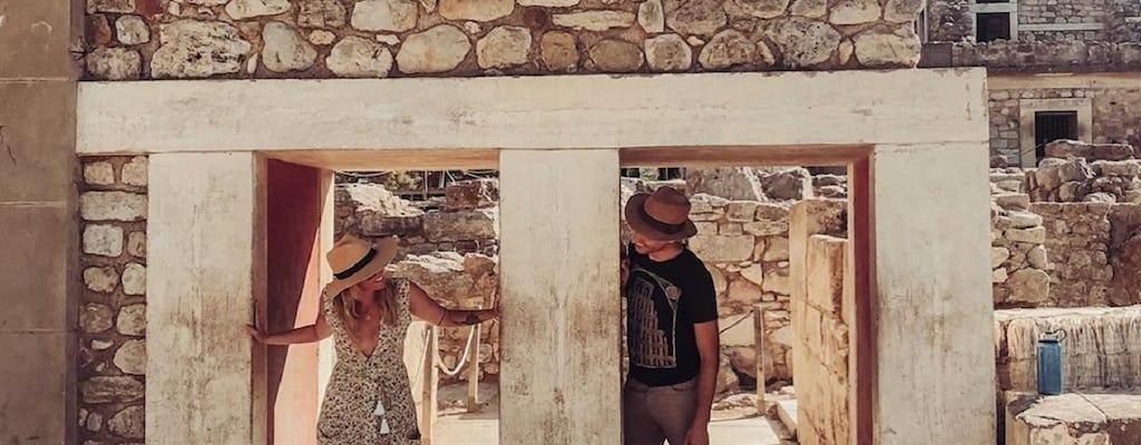 Privétour naar de grot van Zeus en het paleis van Knossos vanuit Chania en Rethymnon