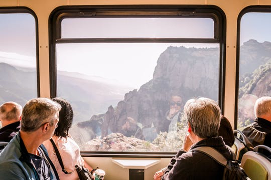 Tour of Montserrat from Barcelona with wine and cogwheel train