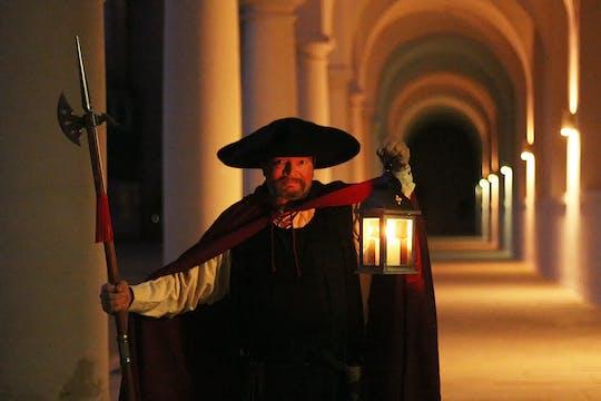 Guided night watchman walking tour in Dresden with nightcap