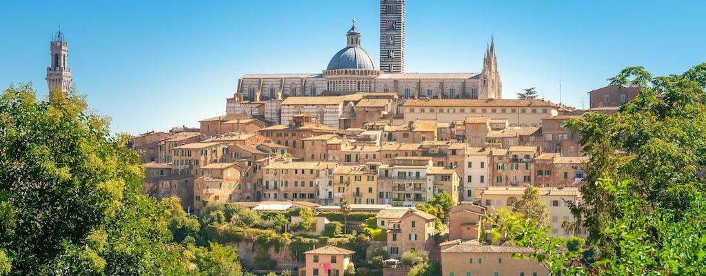 Tour per piccoli gruppi di Siena, San Gimignano e Chianti con biglietti per la Cattedrale e pranzo