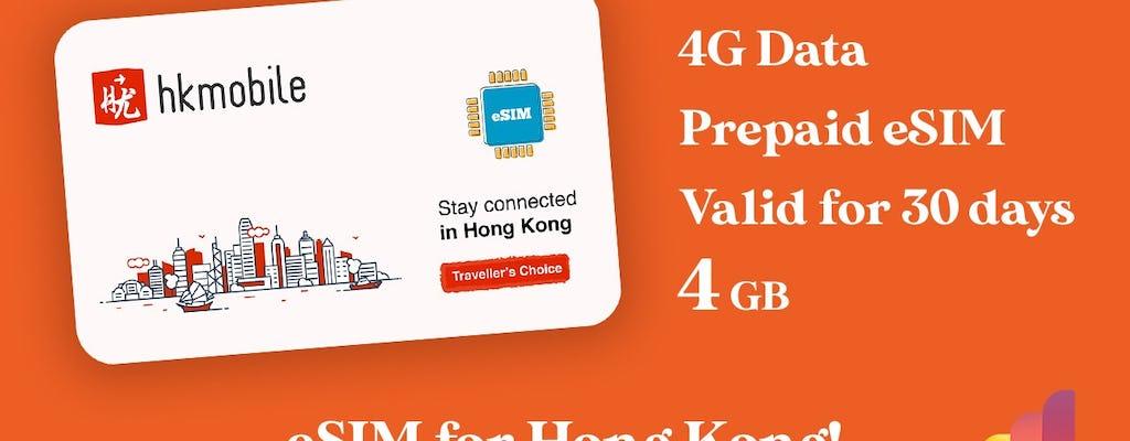 Hong Kong 4G eSIM
