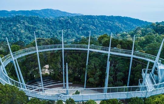 El boleto estándar autoguiado por el dosel y la caminata por las copas de los árboles de Habitat Penang Hill