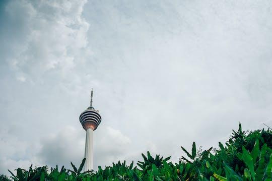 Ingressos para o deck de observação da Torre de Kuala Lumpur
