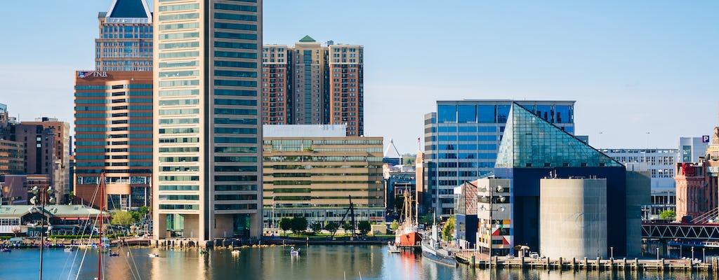 Tour panoramico del porto interno di Baltimora