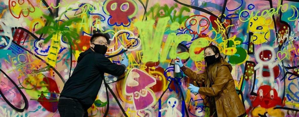Taller de arte urbano 'Spray Paint & Sip' en Chicago
