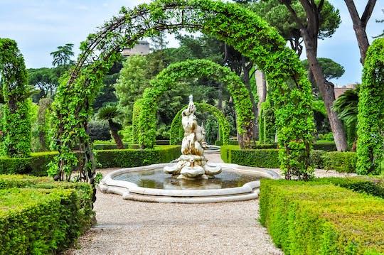 Vatican Gardens audio tour by open-top bus