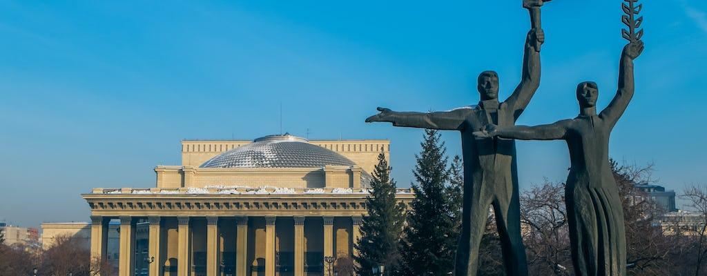 Privattour durch Nowosibirsk zu Fuß und Sightseeing
