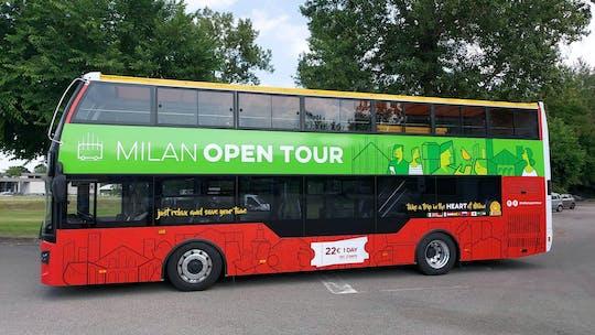 Biglietto giornaliero per bus hop-on hop-off Milano Open Tour