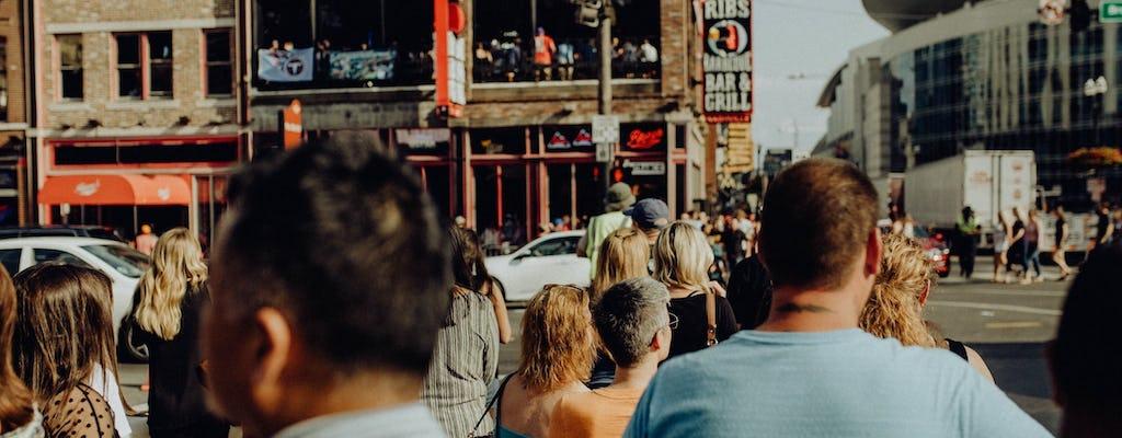 Tour a piedi del centro di Nashville