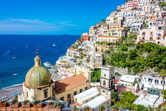 Amalfi Coast in Private Vehicle with Driver