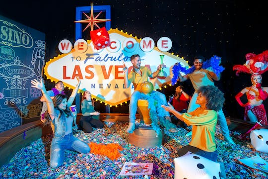 Madame Tussauds Las Vegas admission tickets with Marvel 4D