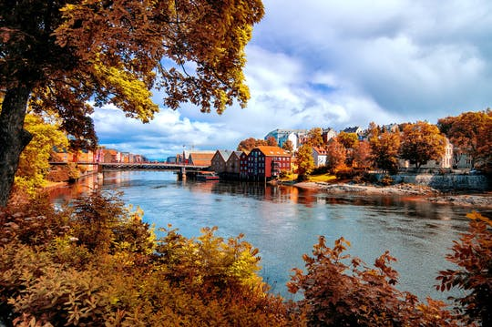 Balade en famille à Trondheim