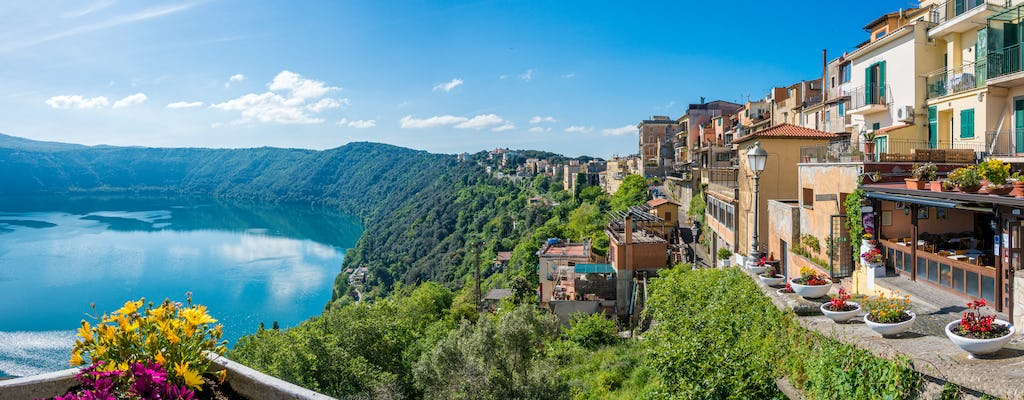 Papal Palace and Gardens of Castel Gandolfo audio tour with picnic