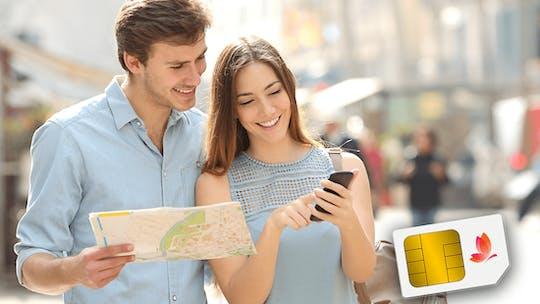 4G Tourist SIM Card para retirá-lo no Aeroporto de Dubai