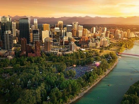 Tour a piedi della città di Calgary