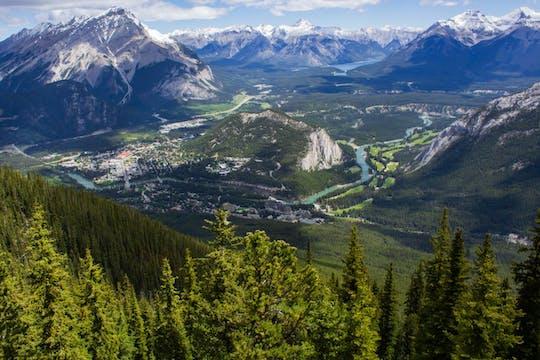 Visite à pied de la région de Banff et du canyon au départ de Banff