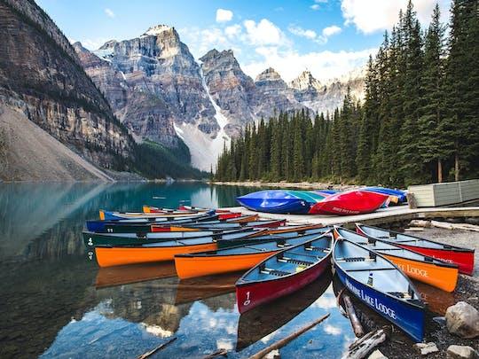 Visite du lac Louise, du parc national Yoho et du lac Moraine au départ de Banff