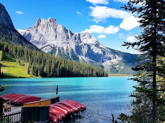 Tour al lago Louise, el Parque Nacional Yoho y el lago Moraine desde Calgary