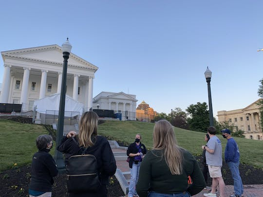 Richmond's haunted Capitol Hill ghost tour