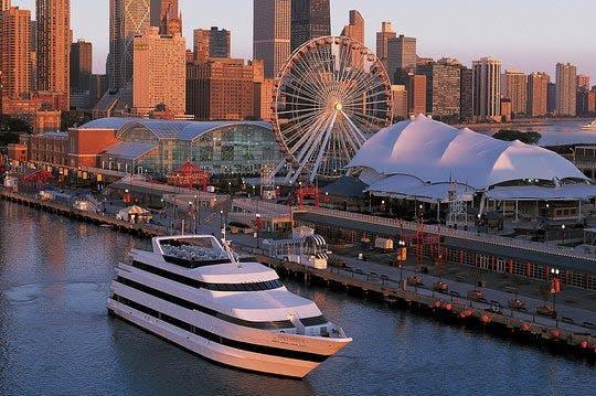 Chicago Odyssey Lake Michigan dinner cruise