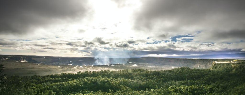 Big Island of Hawaii volcano hiking tour from Kona