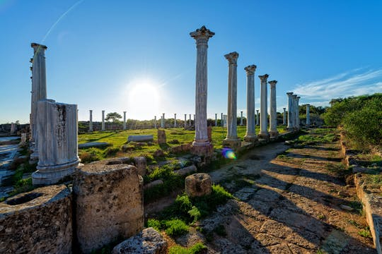 Wycieczka po mieście Famagusta - Wschód