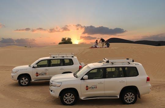 Private 4x4 sunrise and wildlife desert experience