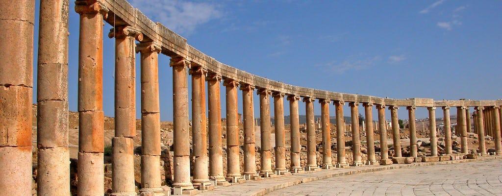 Tour panorâmico de dia inteiro pela cidade de Jerash e Amã