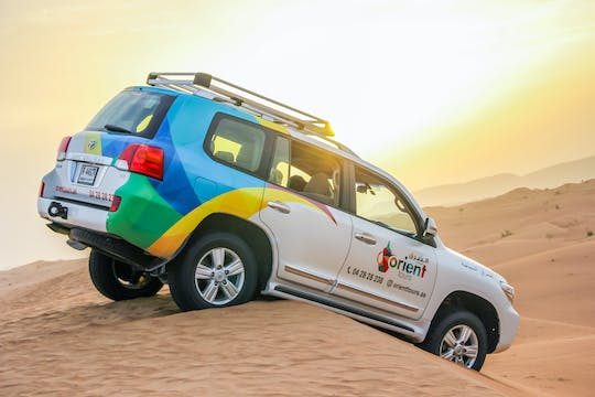 Private desert drive with wildlife experience