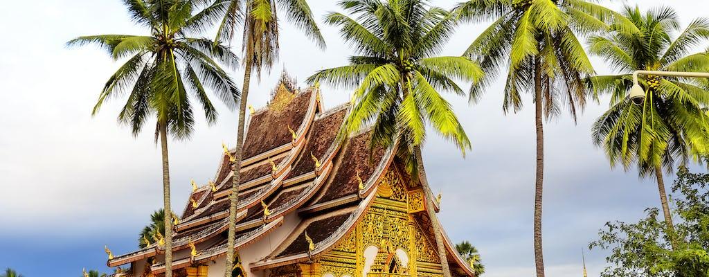 Półdniowa wycieczka rowerem do świątyń Luang prabang