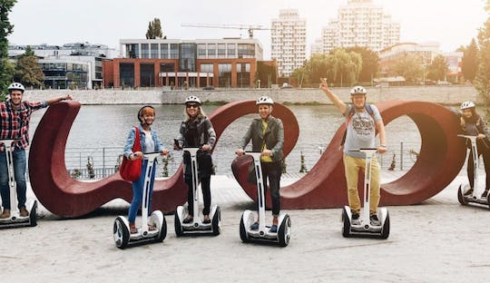 Old Town highlights self-balancing scooter tour in Wroclaw