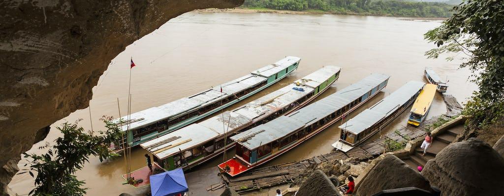 Pak Ou de día completo en barco y Baan Xangkhong