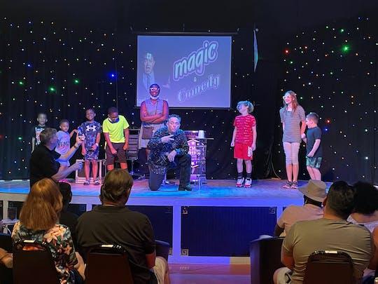 Show de mágica e comédia estrelado por Michael Bairefoot em Myrtle Beach