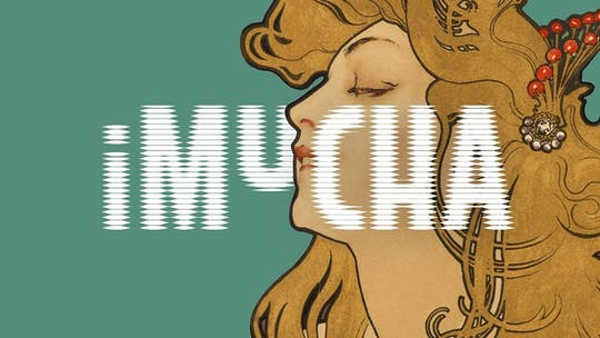 Входной билет на выставку iMucha